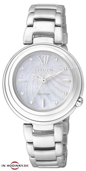 CITIZEN EM0331-52D Eco-Drive - dámske hodinky.   40515eceed5