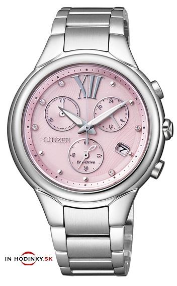 Dámske hodinky CITIZEN FB1311-50W Eco-Drive Chrono + Darček na výber