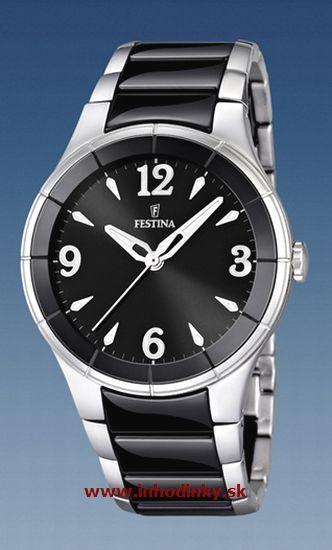 5770ec23b Dámske hodinky Festina 16623/3 Ceramic + darček v hodnote 30 EUR