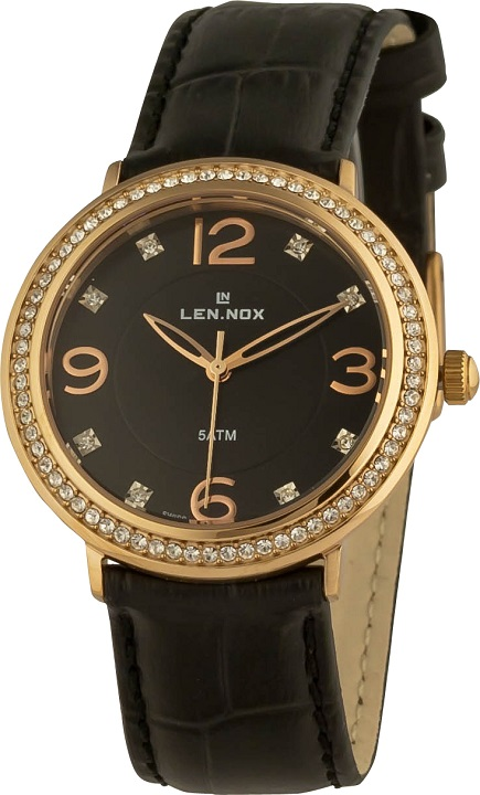 1dde4d210fe Dámske hodinky LEN.NOX L L503RGL-1 Women Stones + darček zväčšiť obrázok