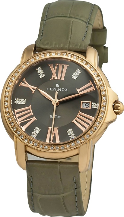 Dámske hodinky LEN.NOX L L537RGL-8 Women Stones + darček