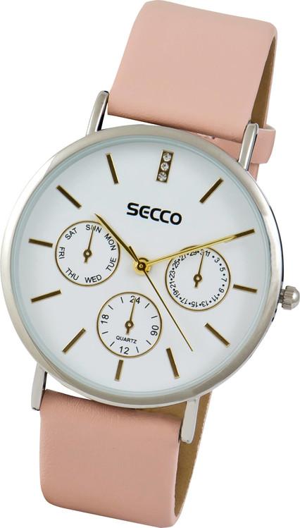 9007bf56a526 SECCO Kožený remienok -Dámske hodinky. Dámske hodinky SECCO S A5041