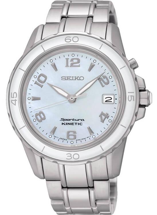 d6febdb84 Dámske hodinky SEIKO SKA879P1 Sportura Kinetic + darček na výber zväčšiť  obrázok