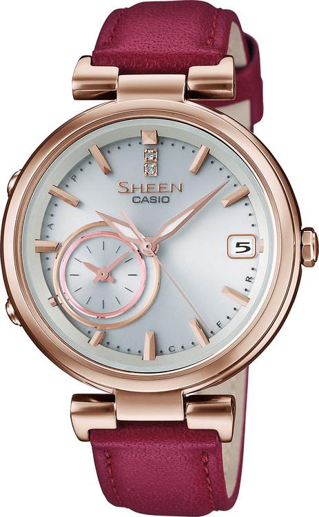 ea7e97a083 Dámske hodinky CASIO SHEEN SHB 100CGL-7A Solar