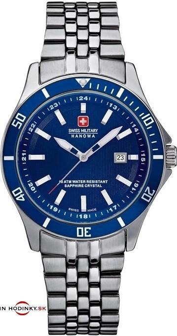 Dámske hodinky Swiss Military Hanowa 7161.7.04.003 Flagship Lady + Meteostanica SWS 65