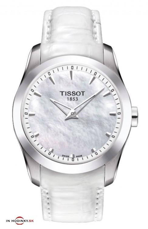 93afc3528 Dámske hodinky TISSOT T035.246.16.111.00 COUTURIER Secret Date Lady + Darček  na výber zväčšiť obrázok
