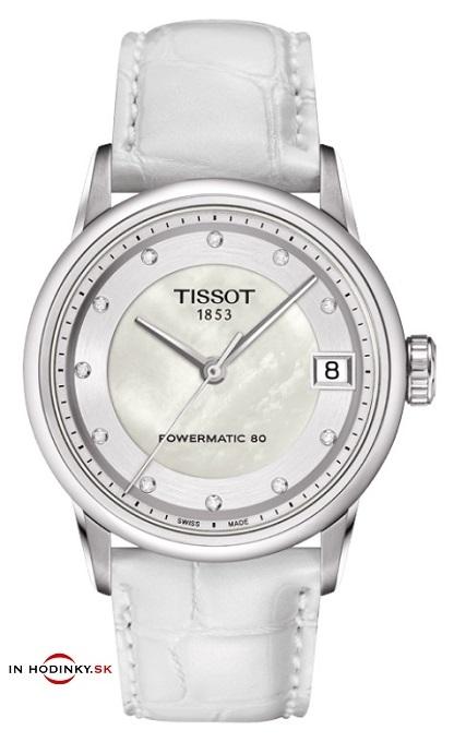 51a33d7de Dámske hodinky TISSOT T086.207.16.116.00 Luxury Automatic Lady + Darček na výber  zväčšiť obrázok