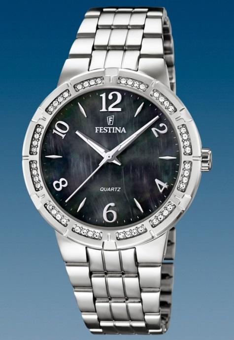 Dámske módne hodinky Festina 16703 2 Mademoiselle so zirkónmi + darček na  výber zväčšiť obrázok 7e3174cf885
