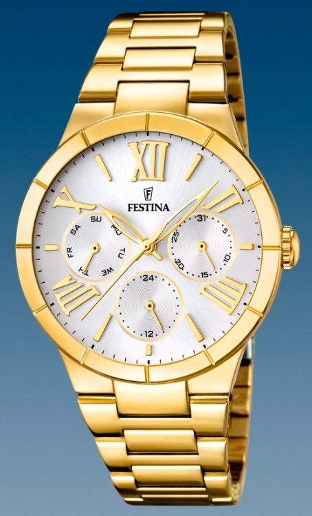 Dámske módne hodinky Festina 16717 1 s multifunkčným dátumom + darček na  výber c9f5b53877d
