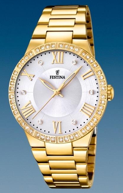 Dámske módne hodinky Festina 16720/1 Mademoiselle + darček na výber