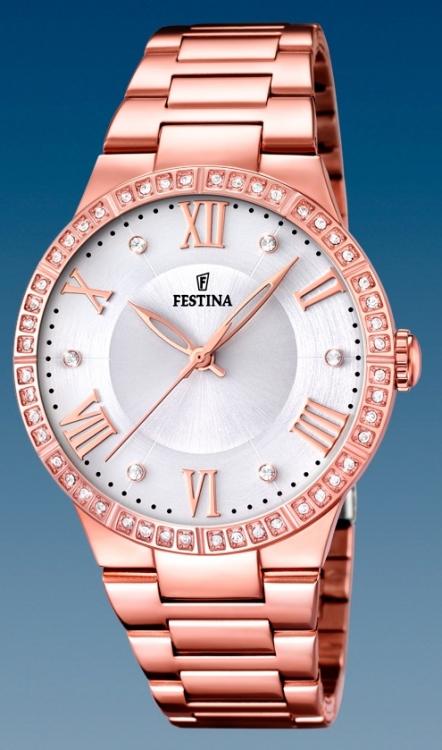 Dámske módne hodinky Festina 16721 1 Mademoiselle + darček na výber zväčšiť  obrázok a223026d6a0