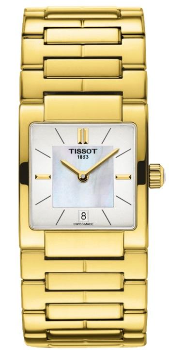 Dámske zlatené hodinky TISSOT T090.310.33.111.00 + darček na výber