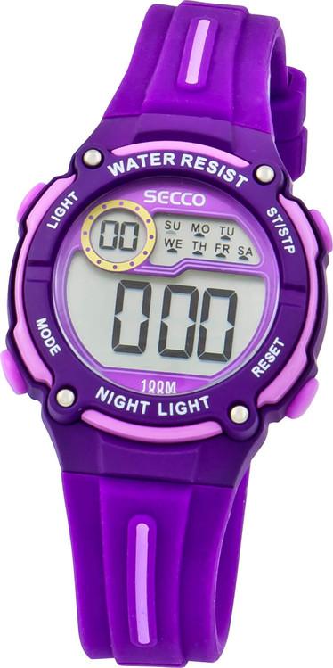 6c8dc2a8b Detské / Teenage športové hodinky SECCO S DIP-005 zväčšiť obrázok