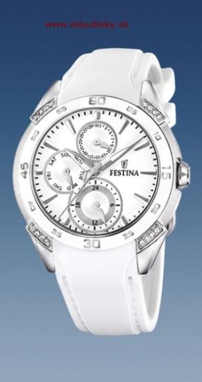 e8732eadd Dámske módne hodinky FESTINA 16394/1 Ceramic + darček na výber