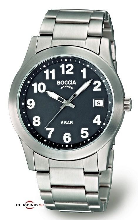 Hodinky BOCCIA 3550-04 Titanium + Darček na výber zväčšiť obrázok db4047abcde