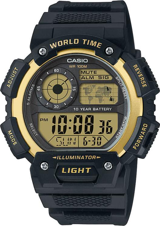 1ae61d5cf Hodinky CASIO AE 1400WH-9A WORLD TIME zväčšiť obrázok