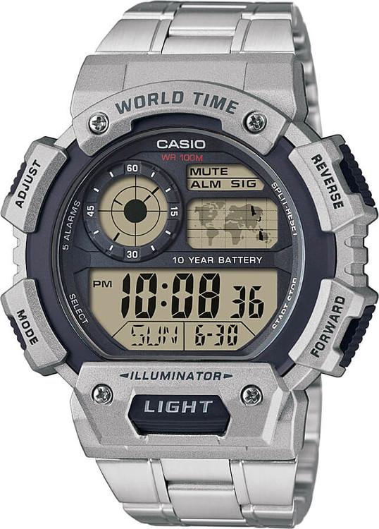 Hodinky CASIO AE 1400WHD-1A WORLD TIME zväčšiť obrázok 080d2ce5c3b