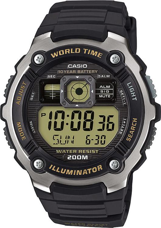 Hodinky CASIO AE 2000W-9A WORLD TIME zväčšiť obrázok b460b3b7f57
