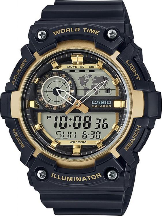 44eae4607 hodinky CASIO AEQ 200W-9A + darček zväčšiť obrázok