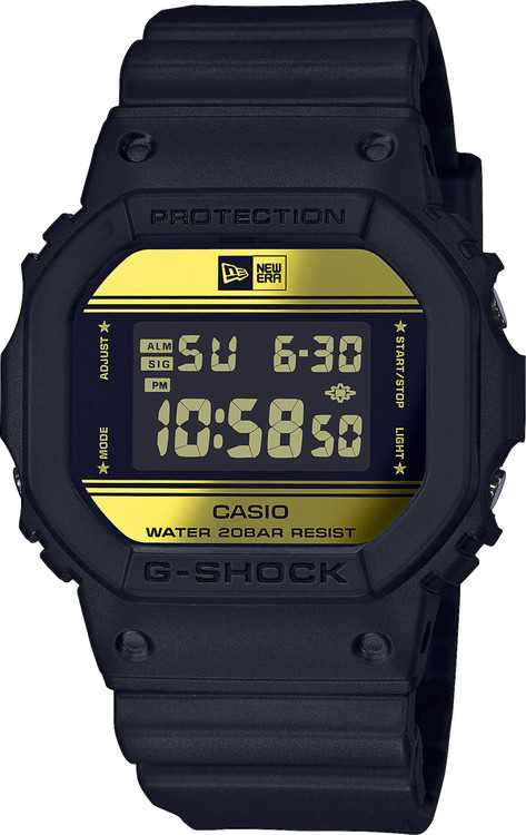 Hodinky CASIO DW 5600NE-1 G-Shock NEW ERA® 84d656feb07