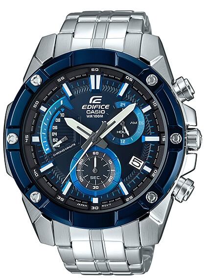 Pánske hodinky CASIO EDIFICE EFR 559DB-2A so stopkami 80a05424836