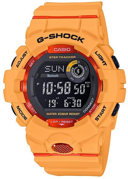 970f8543d Hodinky CASIO G-Shock GBD 800-4 G-SQUAD Bluetooth® zväčšiť obrázok