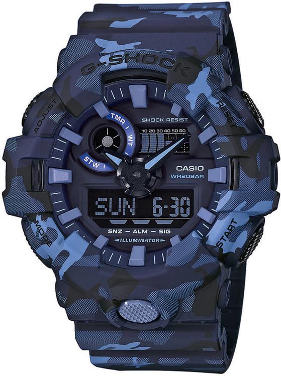 Hodinky CASIO GA 700CM-2A G-Shock zväčšiť obrázok 9af22452c2f