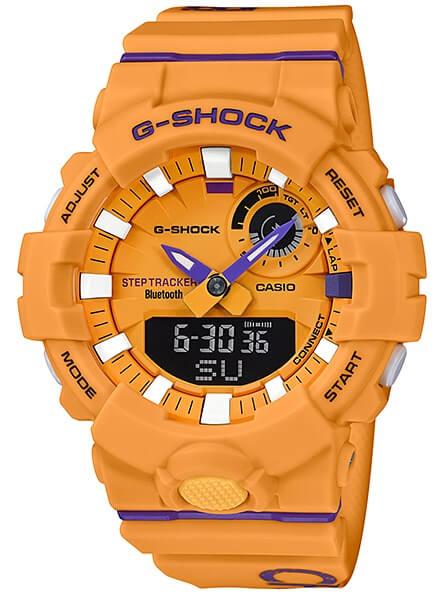 Hodinky CASIO GBA-800DG-9AER G-Shock G-SQUAD Bluetooth® SMART zväčšiť  obrázok 2ccbad9da67