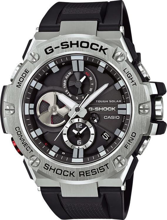 Hodinky CASIO GST B100-1A G-Shock Tough Solar Bluetooth® + darček zväčšiť  obrázok b36536cb5c