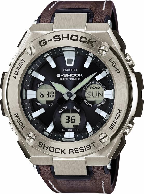 CASIO GST W130L-1A G-Shock Wave Ceptor Touch Solar 2a57cb08b6a