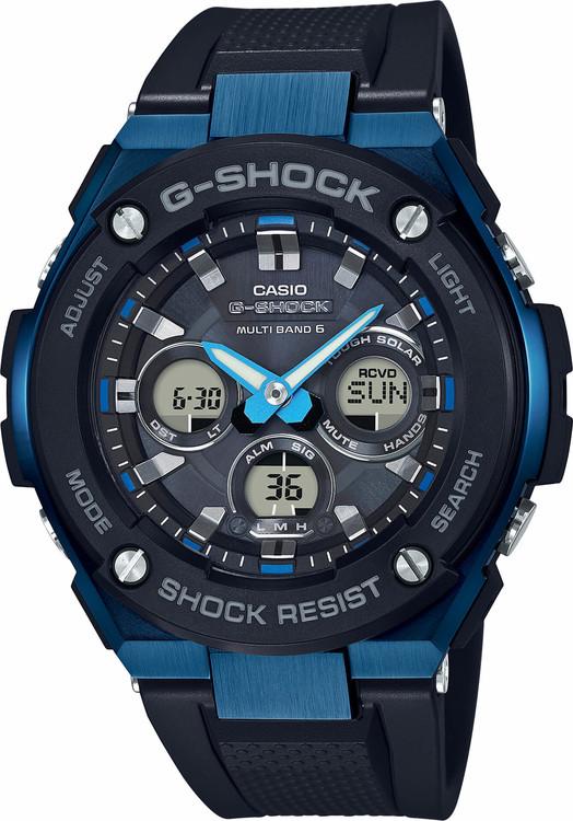 Hodinky CASIO GST W300G-1A2 G-Shock + darček zväčšiť obrázok a67c827895