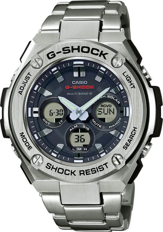 Hodinky CASIO GST W310D-1A G-Shock + darček zväčšiť obrázok 347fc43bd5