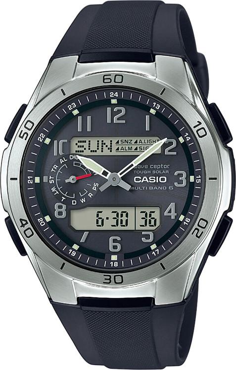 hodinky CASIO WVA M650-1A2 Tough Solar   Wave ceptor + Darček zväčšiť  obrázok 97024bb9786