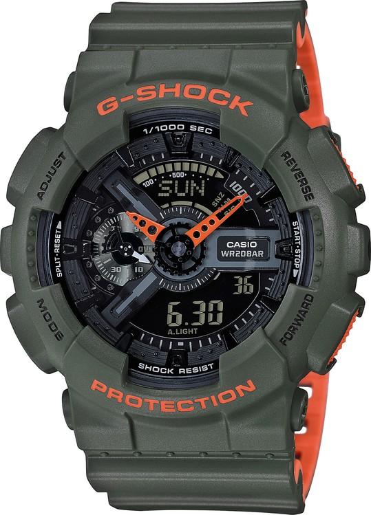 Hodinky CASIO GA 110LN-3A G-Shock + Darček zväčšiť obrázok 23a5a7eab8