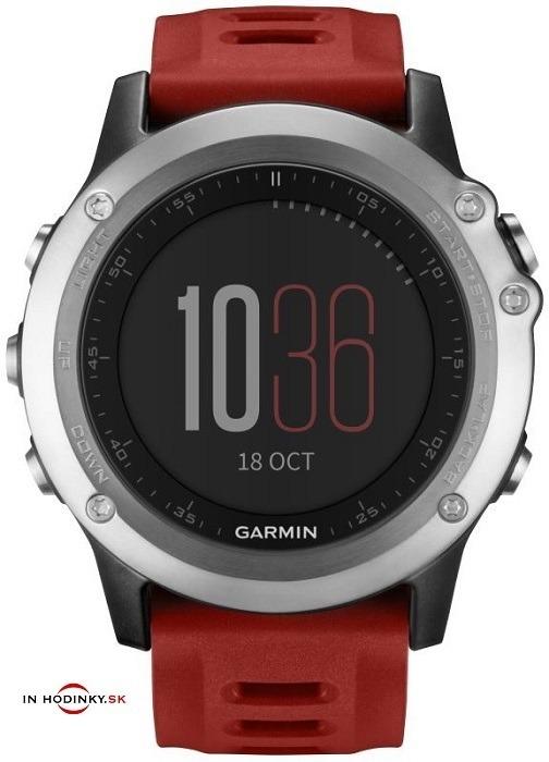 Multifunkčné hodinky GARMIN 010-01338-06 Fénix® 3 Silver