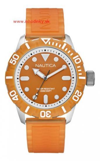 cfdf2464d Nautica NSR 100 Orange A09604G + šiltovka   Inhodinky.sk