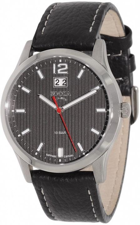 Pánske hodinky BOCCIA 3580-01 Titanium + darček