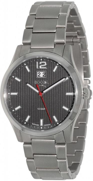 Pánske hodinky BOCCIA 3580-02 Titanium + darček na výber