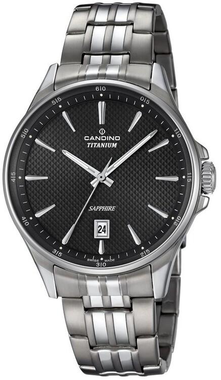 Pánske hodinky CANDINO C4606 4 Titanium + darček zväčšiť obrázok e1f1902b423