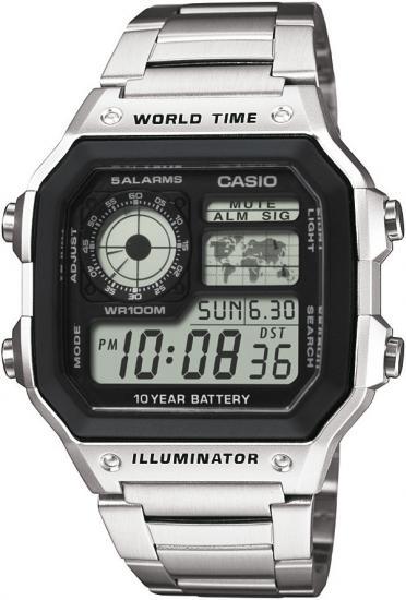 Pánske hodinky CASIO Collection AE 1200WHD-1A + darček zväčšiť obrázok 8e1478588e8