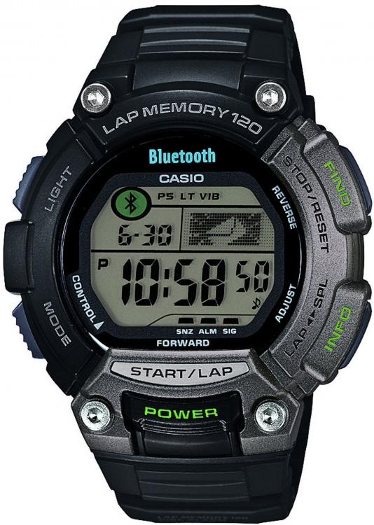 Pánske hodinky CASIO STB 1000-1 BLUETOOTH + Darček zväčšiť obrázok 9f4babd126