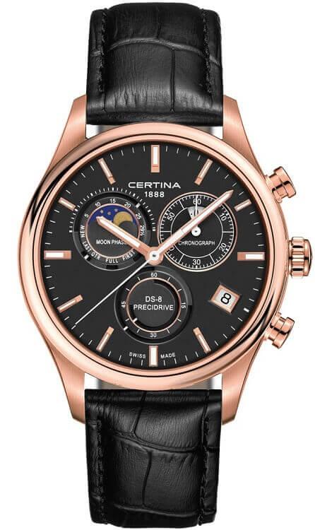 42e90b62e5 Pánske hodinky Certina C033.450.36.051.00 DS-8 Chronograph Moon Phase +  darček zväčšiť obrázok