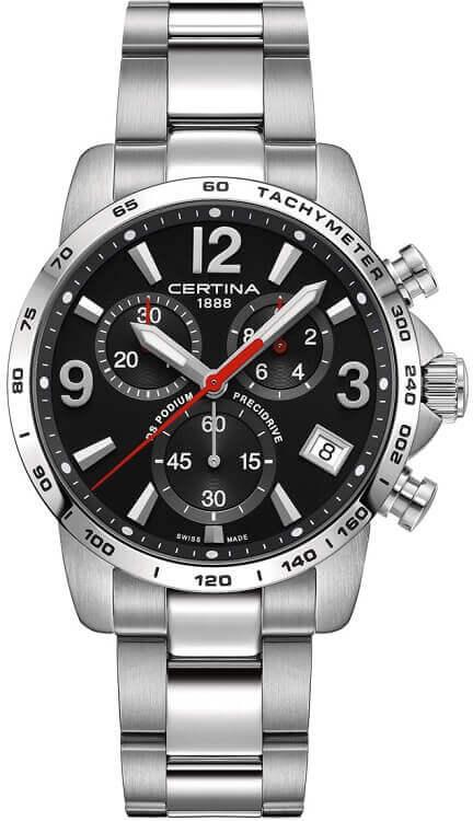 5c155067ef6 Pánske hodinky Certina C034.417.11.057.00 DS Podium Chrono Precidrive +  darček na výber zväčšiť obrázok