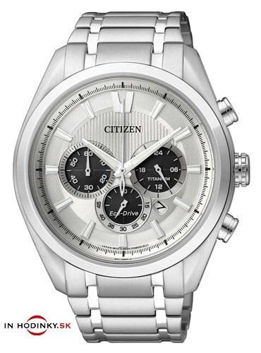 Pánske hodinky CITIZEN CA4010-58A Eco-Drive, Super Titanium + Darček na výber
