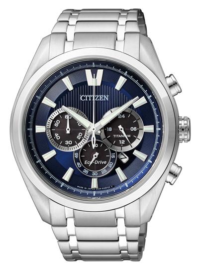 Pánske hodinky CITIZEN CA4010-58l Chrono Eco-Drive, Super Titanium + Darček na výber