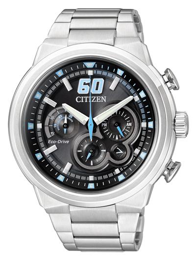 Pánske hodinky CITIZEN CA4130-56E Chronograf, Eco-Drive + Darček na výber
