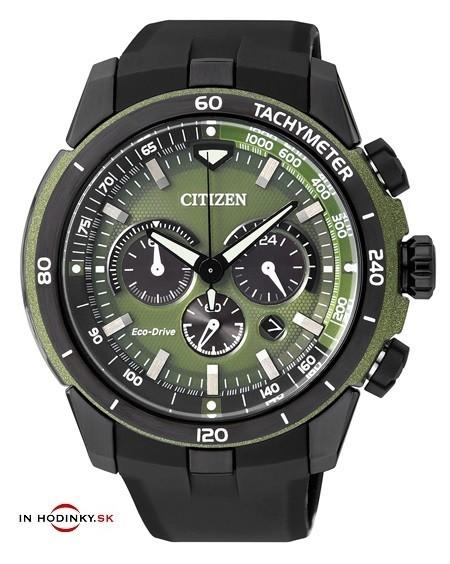 CITIZEN CA4156-01W Eco-Drive Chronograph - pánske hodinky.   925a51a5612