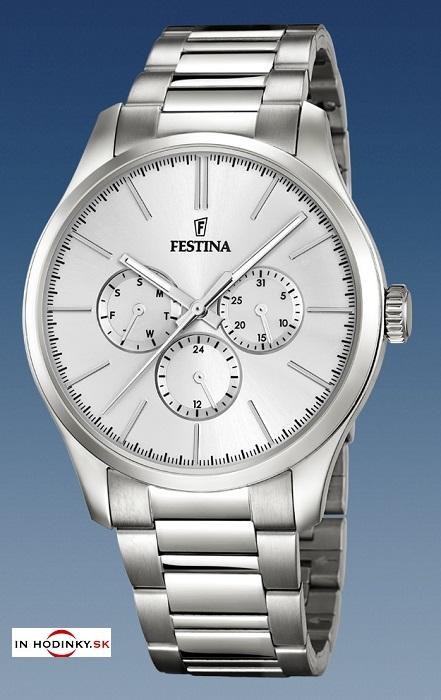 48661d016 Pánske hodinky Festina 16810/1 Classic + darček na výber zväčšiť obrázok