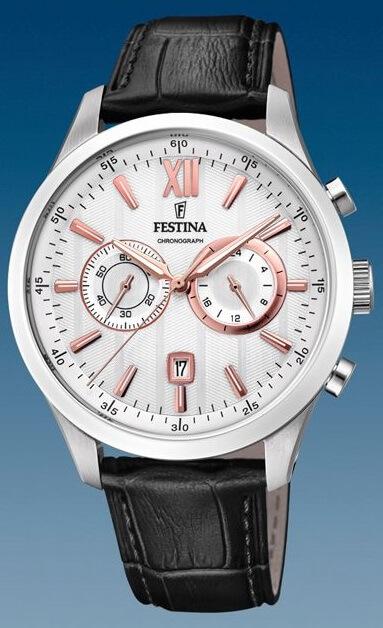 Pánske hodinky FESTINA 16996 1 Chronograph + darček na výber zväčšiť obrázok d470dd12757