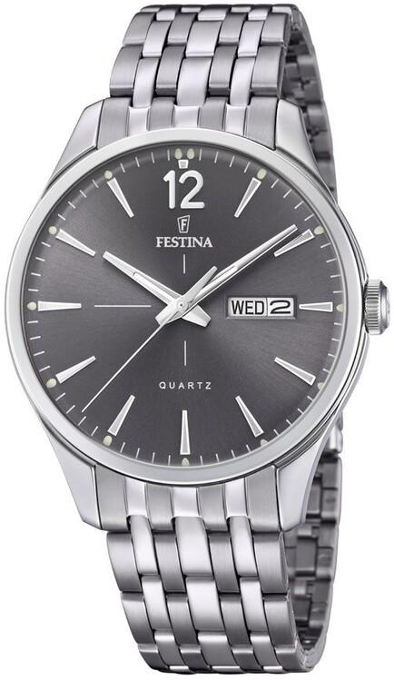 d725831c7 Pánske hodinky Festina 20204/2 Klasik + darček zväčšiť obrázok